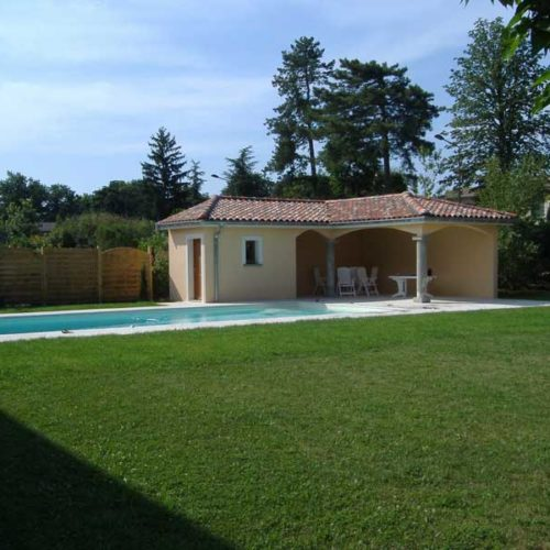 Pool House, abri de jardin